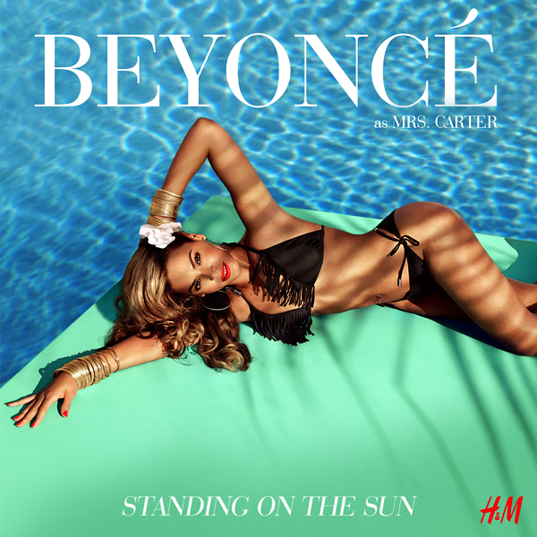 beyonce standing on the sun (1)