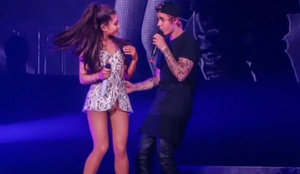 Justin-Bieber-Joins-Ariana-Grande-Onstage-For-Surprise-Duets-At-Her-Miami-Concert-665x385