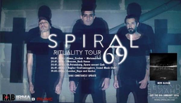Ritual il nuovo singolo degli Spiral69 estratto dall' album Second Chance